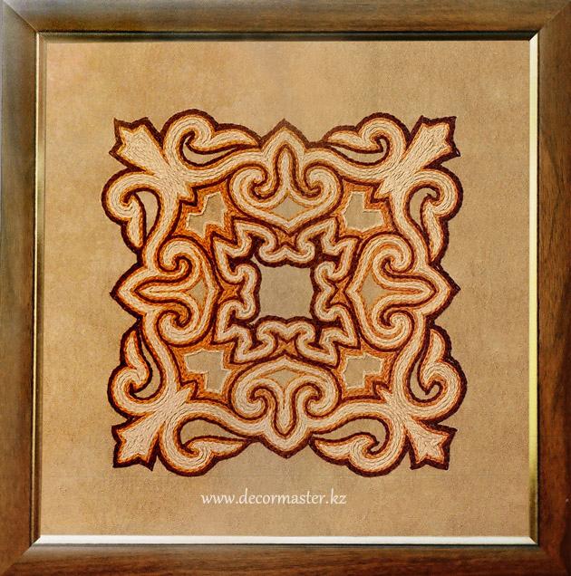 Вышивка казахского орнамента