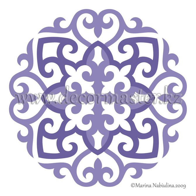 Казахский орнамент для вышивки